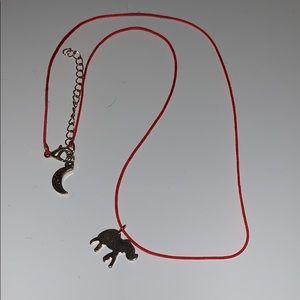 Elephant/Moon necklace!